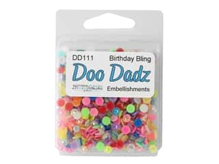 Buttons Galore Embellishments DooDadz Birthday Bling