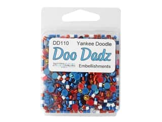 craft & hobbies: Buttons Galore Embellishments DooDadz Yankee Doodle