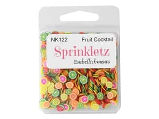 Buttons Galore Sprinkletz - Fruit Salad