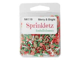 craft & hobbies: Buttons Galore Sprinkletz - Merry & Bright