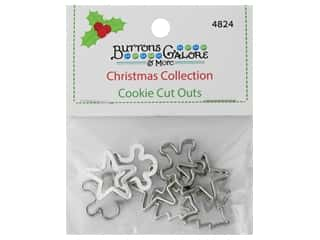 Buttons Galore Theme Button Christmas Collection Cookie Cut Outs