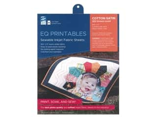 Electric Quilt Printables Inkjet Cotton Satin 6pc