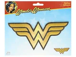 Simplicity Applique DC Comics Iron On Large Wonder Woman Logo