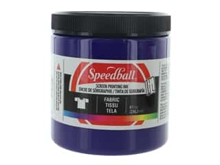 Speedball Fabric Screen Printing Ink 8 oz. Violet