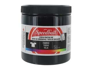 Speedball Fabric Screen Printing Ink 8 oz. Black