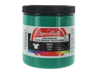 Speedball Fabric Screen Printing Ink 8 oz. Green