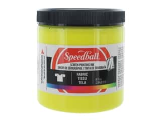 Speedball Fabric Screen Printing Ink 8 oz. Yellow