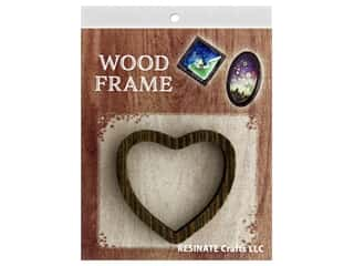 Resinate Wood Frame Heart