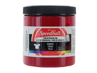 Speedball Fabric Screen Printing Ink 8 oz. Process Magenta