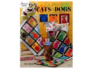 books & patterns: Annie's Quilted Cats & Dogs Book