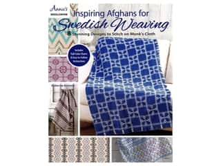 Inspiring Afghans for Swedish Weaving Book