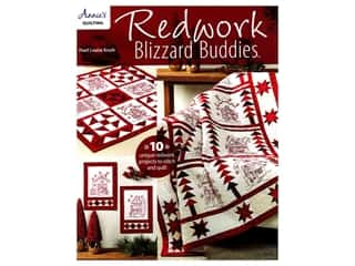 books & patterns: Annie's Redwork Blizzard Buddies Book