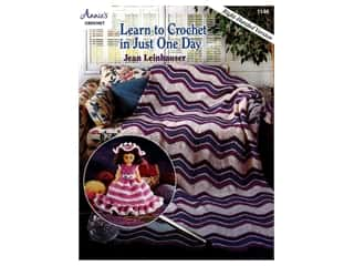 Annie's Learn to Crochet in Just One Day Book