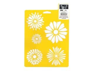 craft & hobbies: Delta Stencil Mania 7 x 10 in. Daisies