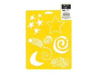 craft & hobbies: Delta Stencil Mania 7 x 10 in. Fun Shapes