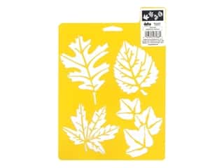craft & hobbies: Delta Stencil Mania 7 x 10 in. More Leaves