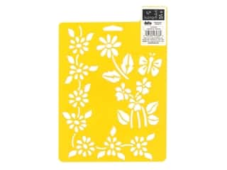 craft & hobbies: Delta Stencil Mania 7 x 10 in. Floral Accents