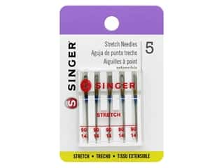 Singer Machine Needle Stretch Size 90/14 5 pc