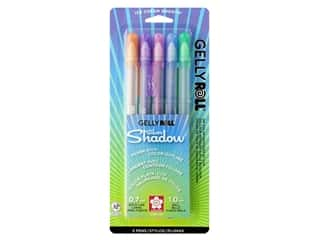 Sakura Gelly Roll Pen Silver Shadow Set Assorted Color 5 pc.