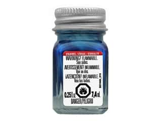 Testors Enamel Paint Metallic Flake Blue .25oz