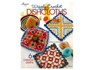 Annie's Wiggly Crochet Dishcloths Book