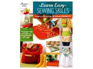 Annie's Learn Easy Sewing Skills Book by Lorine Mason