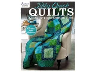 Jiffy Quick Quilts: Quilts for the Time Challenged Book by Annie's