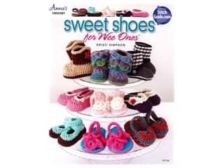 Annie's Crochet Sweet Shoes for Wee Ones Bk