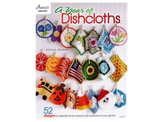Annie's Crochet A Year of Dishcloths Bk