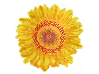 craft & hobbies: Diamond Dotz Beginner Kit - Happy Day Sunflower