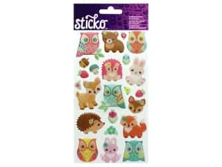 EK Sticko Stickers Epoxy Woodland Creatures