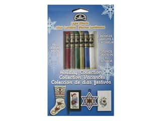 yarn & needlework: DMC Embroidery Floss Packs Light Effects Holiday
