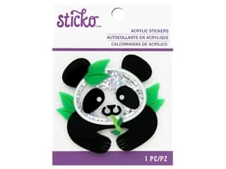 Sticko Acrylic Stickers - Panda