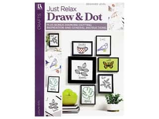 books & patterns: Leisure Arts Just Relax Draw & Dot Book