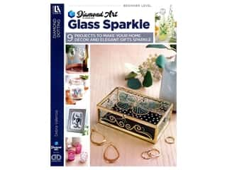 Leisure Arts Diamond Dotting Glass Sparkle Book