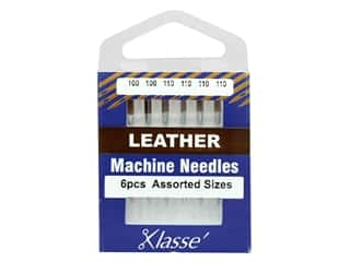 Klasse Machine Needle Leather Assorted 6 pc