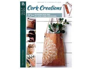 books & patterns: Leisure Arts Cork Creations Book