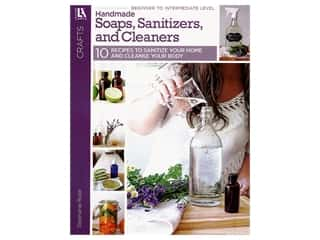 books & patterns: Leisure Arts Handmade Soaps, Sanitizers, and Cleaners Book