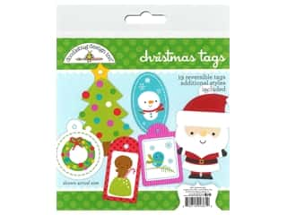 Doodlebug Santa Express Collection Craft Kit Tags Christmas