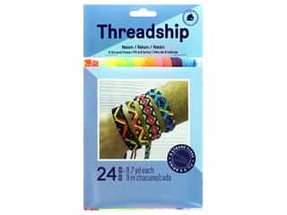 yarn & needlework: Threadship Prism Floss Pack Six Strand Neon 24 pc