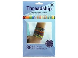 Prism Six Strand Embroidery Floss Pack 36 pc. Tye Dye