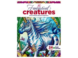 Leisure Arts Fantastical Creatures Coloring Book