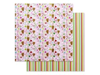 "Doodlebug Night Before Christmas Paper 12""x 12"" Dancing Sugarplums (25 pieces)"