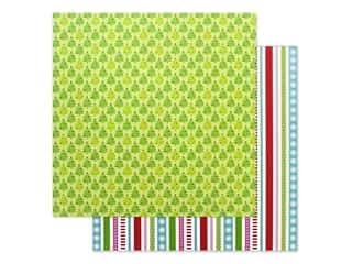 """scrapbooking & paper crafts: Doodlebug Night Before Christmas Paper 12""""x 12"""" Tinsel Time (25 pieces)"""