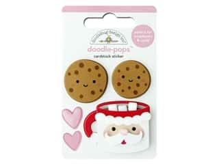 Doodlebug Night Before Christmas Doodle Pops Cookies For Santa