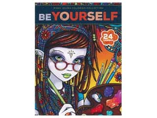 Myka Jelina Be Yourself Coloring Book