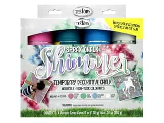 Testors Spray Chalk Paint Kit Shimmer