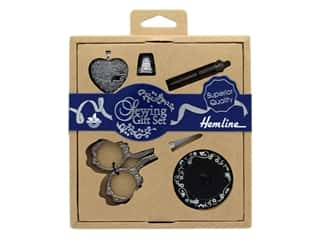 Tacony Hemline Sewing Gift Set Antique Silver 5pc