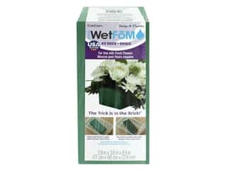 FloraCraft Foam Artesia Wet Fom Brick 2.8 in. x 3.8 in. x 8.9 in. Package