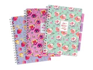 Pukka Pad Divided Project Book Blossom 3 Styles (3 pieces)